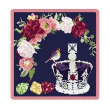 Feiler 'The Royal Crown' washcloth Pink
